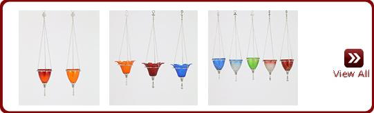 Glass Vigil Lamps
