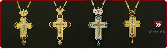 Gold and Silver Plated Crosses