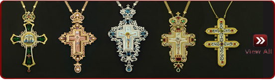 Sterling Silver pectoral Crosses