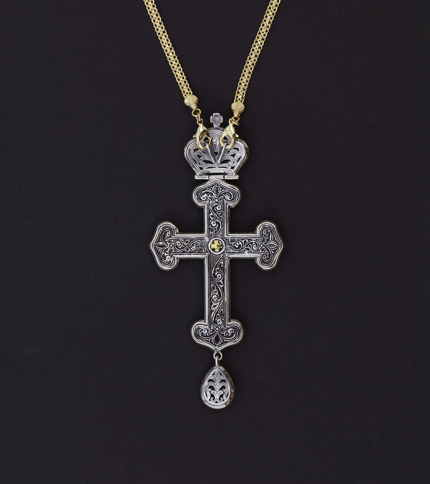 Alpha omega church supplies orthodox ecclesiastical art vestments pectoral cross 468 buycottarizona