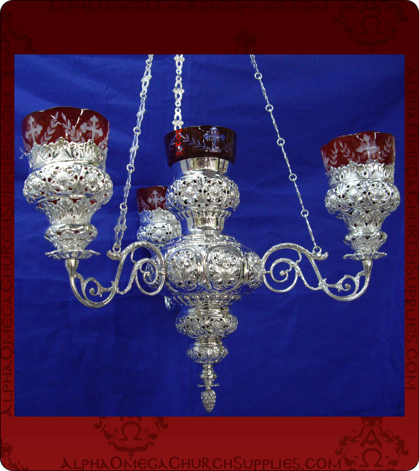Orthodox Hanging Vigil Lamp