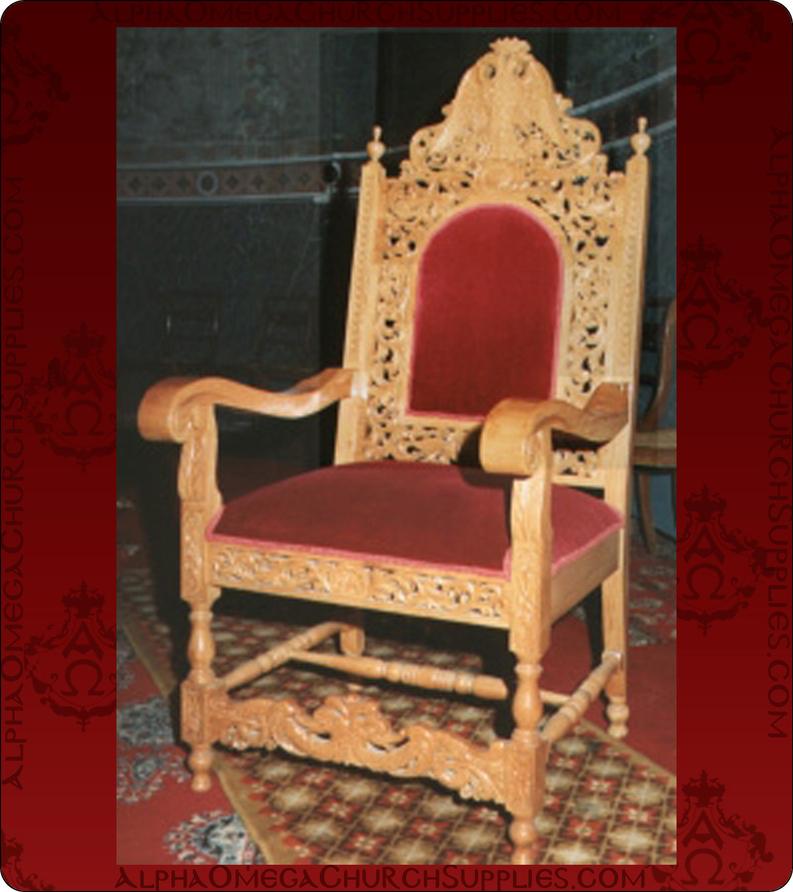 Delicieux Bishop Chairs Altar