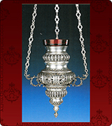 Hanging Vigil Lamp - 3702SS