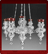 Hanging Vigil Lamp - 3776SS-5