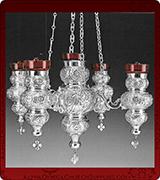 Hanging Vigil Lamp - 3776SS-4