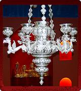 Hanging Vigil Lamp - 688