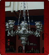 Hanging Vigil Lamp - 698