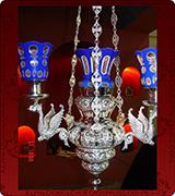 Hanging Vigil Lamp - 712
