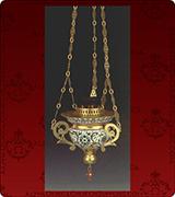 Hanging Vigil Lamp - 120M