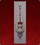 Hanging Vigil Lamp - 354XL