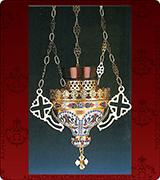 Hanging Vigil Lamp - 3722S