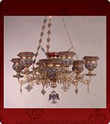 Hanging Vigil Lamp - 405-7
