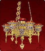 Hanging Vigil Lamp - 406-7