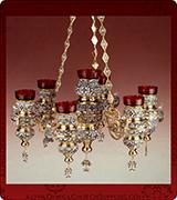 Hanging Vigil Lamp - 425-7