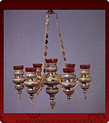 Hanging Vigil Lamp - 429-7