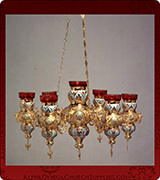 Hanging Vigil Lamp - 440-7