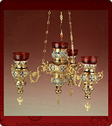 Hanging Vigil Lamp - 443-4