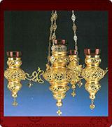 Hanging Vigil Lamp - 3773-7