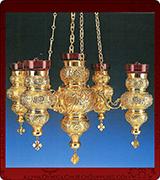 Hanging Vigil Lamp - 3776-4