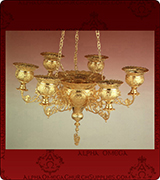 Hanging Vigil Lamp - 415-7
