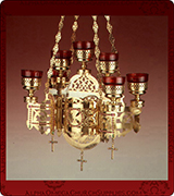 Hanging Vigil Lamp - 445-7