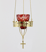 Hanging Vigil Lamp - 42521