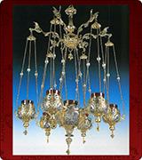 Hanging Vigil Lamp - 3777