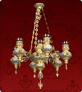 Hanging Vigil Lamp - 442-7