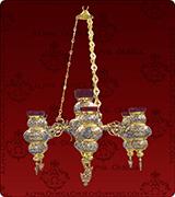 Hanging Vigil Lamp - 482-4