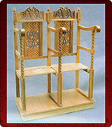 Monastic Chair - 5176
