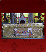 Altar Table Cover - 127