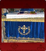 Altar Table Cover - 138