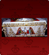 Altar Table Cover - 237