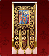 Embroidered Banner - 120
