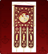 Embroidered Banner - 240XL