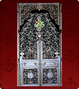 Royal Door Curtain - 130
