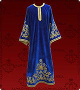 Embroidered Deacon Vestment - 117