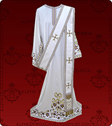 Embroidered Deacon Vestment - 119