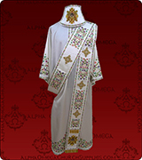 Embroidered Deacon Vestment - 124
