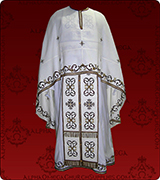 Embroidered Priest Vestment - 109