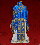 Embroidered Priest Vestment - 112