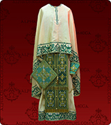 Embroidered Priest Vestment - 114