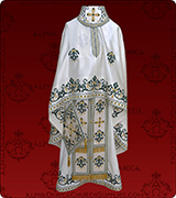 Embroidered Priest Vestment - 117