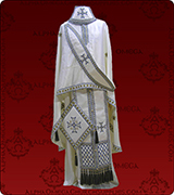 Embroidered Priest Vestment - 119