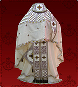 Embroidered Priest Vestment - 120