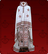 Embroidered Priest Vestment - 121