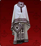 Embroidered Priest Vestment - 122