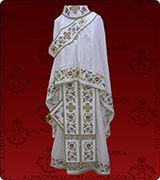 Embroidered Priest Vestment - 125