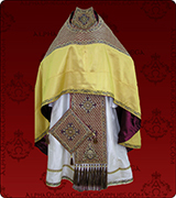 Embroidered Priest Vestment - 126