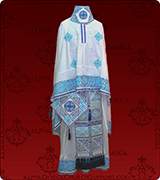 Embroidered Priest Vestment - 129